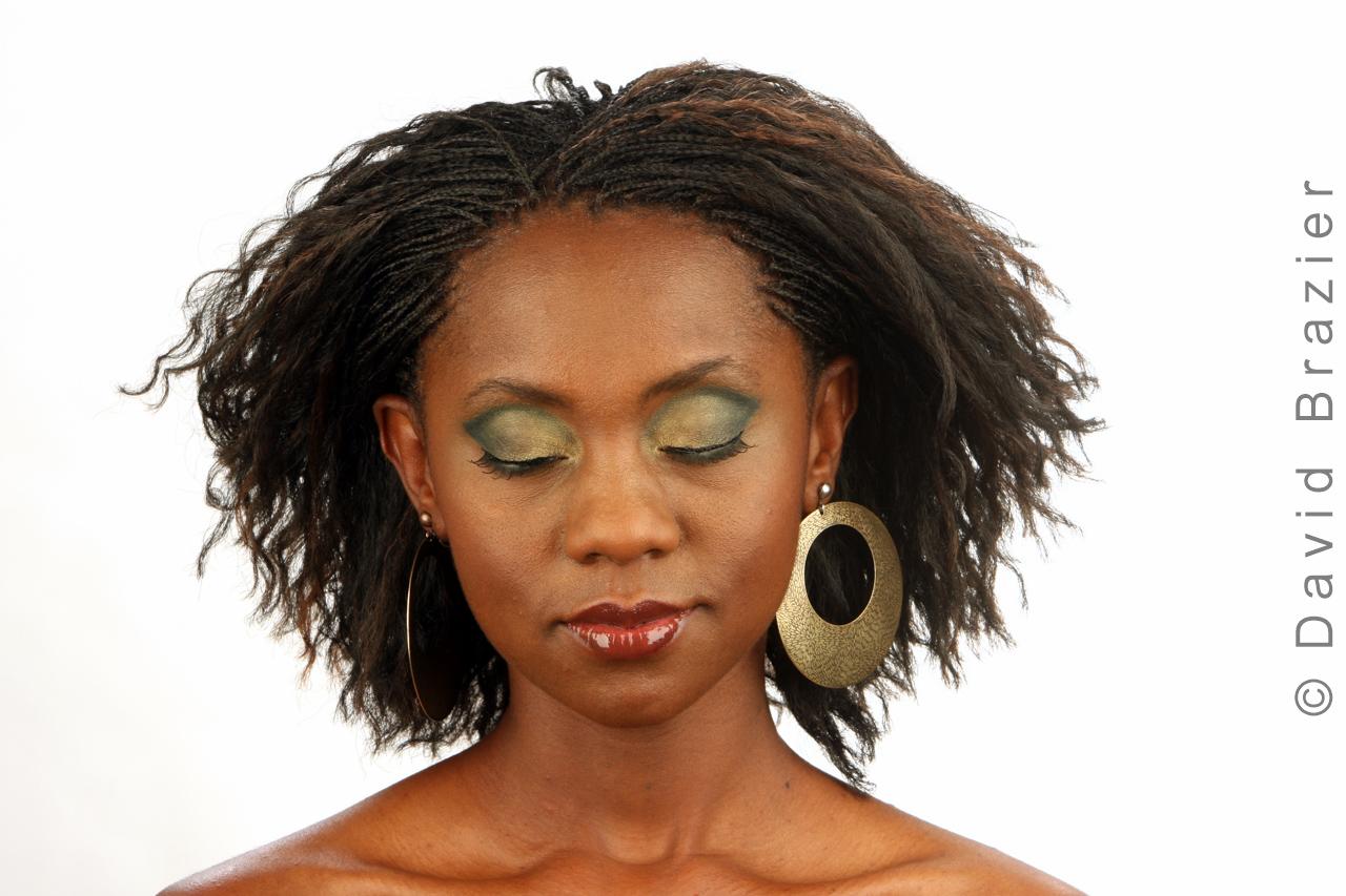 Studio photograph of African talent